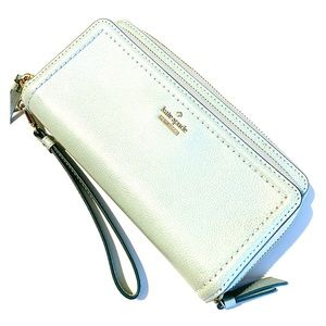 Kate Spade Mint Green Patterson Drive Anita Wallet